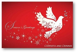 Christmas Card from guest to Mr. C Car Service