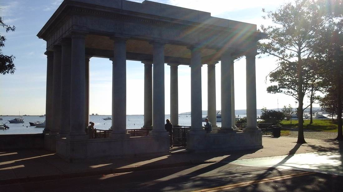 Plymouth Rock Plymouth Massachusetts with Mr C Car Service