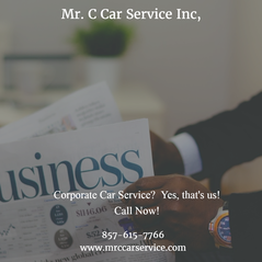 Corporate ground transportation with Mr. C Car Service